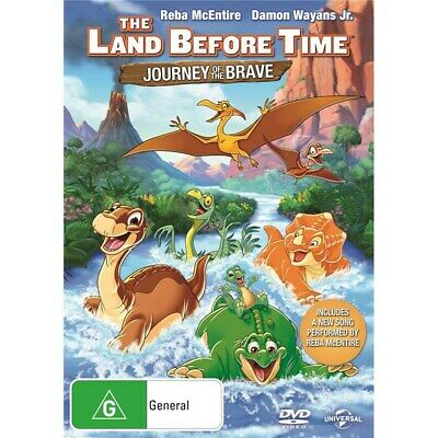 The Land Before Time 14 Journey of the Brave DVD Region 4 NEW