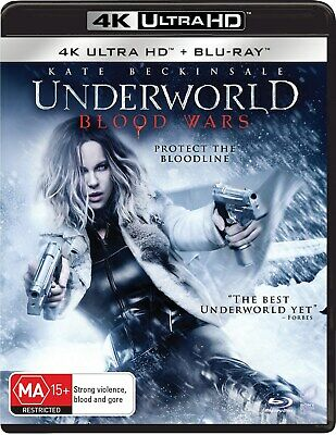 Underworld Blood Wars 4K Ultra HD Blu-ray Digital Download UHD Region B NEW