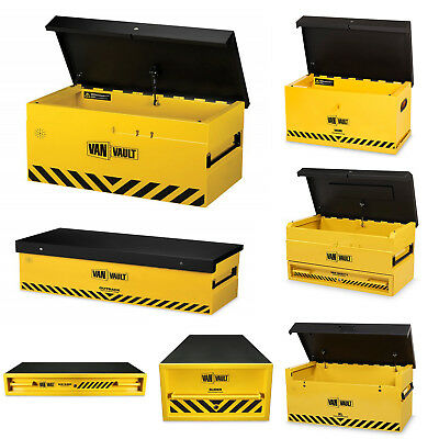 Van Vault Security Boxes (Various Sizes) Vehicle Site Secure Store Chest Safe