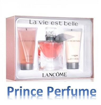 LANCOME LA VIE EST BELLE EDP SPRAY 50 ml + BODY LOTION 50 ml + SHOWER GEL 50 ml