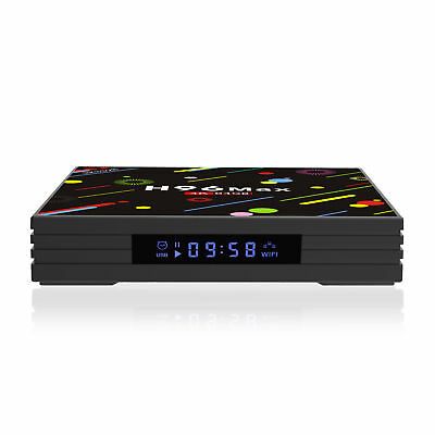 TV BOX H96 H3 MAX Android 7 1 RK3328 4GB RAM 64GB Memory Quad Core CPU Kodi  WiFi