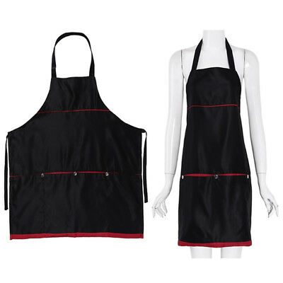 Pro Salon Barber Hair Cutting Gown Cape Hairdressing Hairdresser Apron 4-Pockets