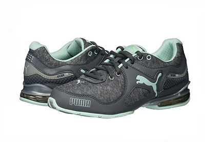 45649957d9ae NEW Puma Women s Cell Riaz Athletic Running Lace Up Shoe Gray Mint - Pick  Size