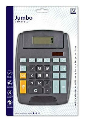 EXTRA LARGE Tilt Display Jumbo Desktop Calculator Big Button School Office Desk
