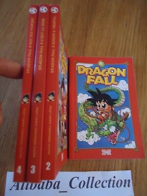 LOT MANGA ** DRAGON FALL 1 2 3 4 ** VF TENGAI PARODIE DBZ BALL HUMOUR Fernandez