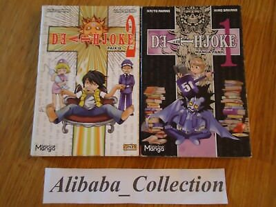 Rare Lot Manga ** Death Joke 1 2 ** Eo Vf Pastiche Note Humour