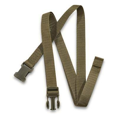 Genuine Swiss army military nylon webbing belt utility packing Lashing strap