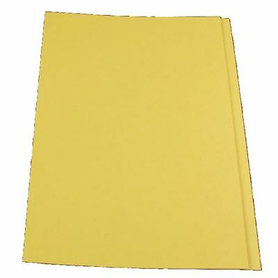 Guildhall Yellow Square Cut Folder Foolscap (Pack of 100) FS315-YLWZ [GH14098]