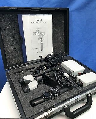 Zeiss HSO 10 Hand-Held Slit Lamp and Ophthalmoscope Illuminator Vintage