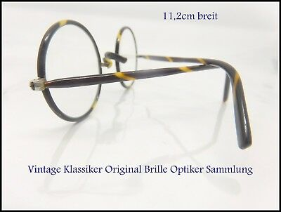 Antike Brille  Optiker Nachlass  vintage Top Brille Original aus alter Zeit 11,2