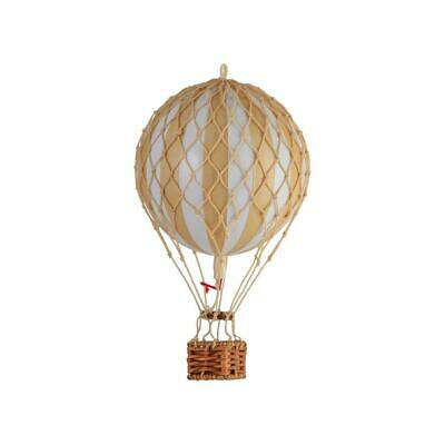 "Hot Air Balloon Model  Yellow Striped 22"" Hanging Ceiling Home Decor"