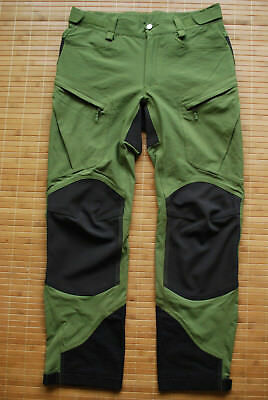 Haglofs Rugged Mountain Pants Men S Size M Trousers Hiking Technical Hybrid