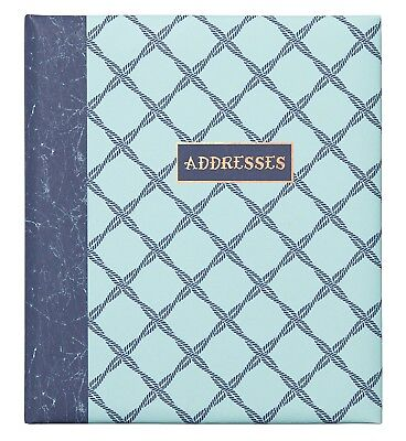 C.R. Gibson Refillable Address Book, 6-Ring Binder Format, Tabbed Dividers, 4...