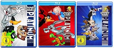 Looney Tunes Platinum Collection Volumes 1-3 Blu-Ray Bundle NEW Import 1 2 3