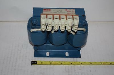 MTE CORP. # RL-01802  AC Line Reactor 3Ph 600V 1.50mH  18Amps  50/60 Hz