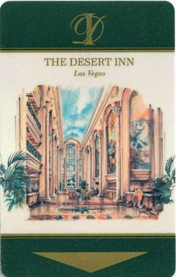 Las Vegas Desert Inn Casino Room Key