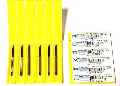 Morse #5-40 Tap Spiral Point Plug Taps High Speed Steel 12 Pack USA Made