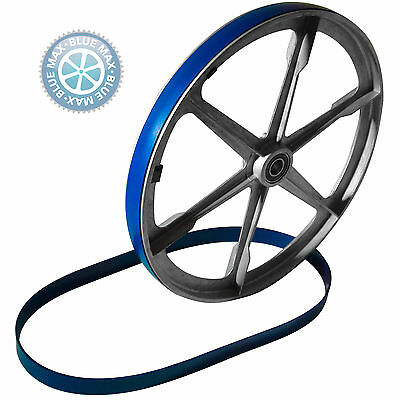 "3 - 6 1/4 "" X 1/2"" Blue Max Urethane Band Saw Tires For 3 Wheel Band Saws"