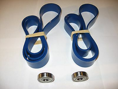 2 Blue Max Ultra Duty Band Saw Tires And 2 Thrust Bearings For Delta 28-206