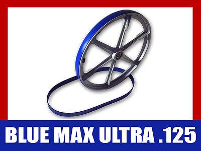 2 Blue Max Urethane Bandsaw Tires 9 3/4 X 3/4 Ultra Duty .125 For Delta Band Saw