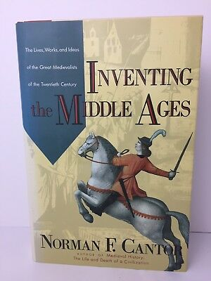 Inventing The Middle Ages Norman F Cantor Hardcover New Unsealed