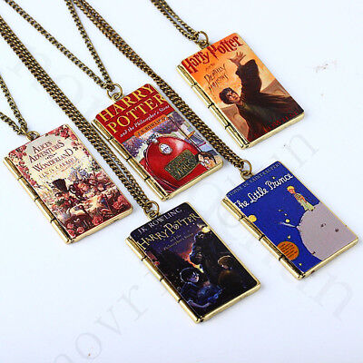 Harry Potter Jewelry Book Necklace Film Pendant Jewelry Toys Gift Cosplay Kids