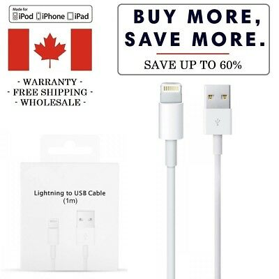 New USB Charging Cable Charger for Apple iPhone 5,6,7,8,X iPad iPod