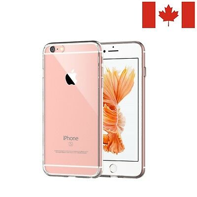 Clear Thin Silicone Case for iPhone 8, iPhone 7, iPhone 6s, iPhone SE, iPhone 5s