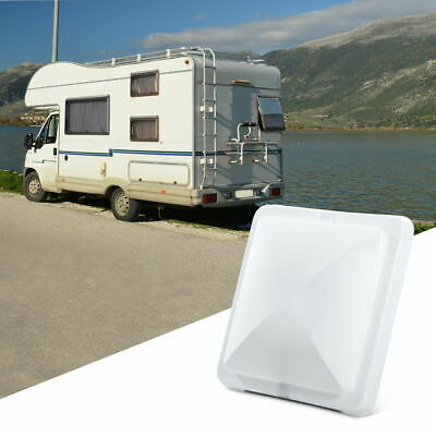 "14""x 14"" Universal RV Roof Vent Cover Lid for Camper Trailer Motorhome US White"