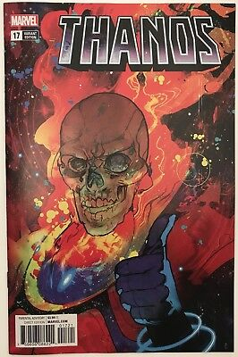 Thanos #17: FIRST PRINTING - SOLD OUT - Cosmic Ghost Rider Variant (Marvel 2018)