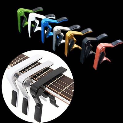 Quick Change Tune Clamp Key Trigger Capo for Acoustic/Electric/Classic Guitar