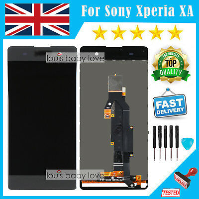 For Sony Xperia XA F3111 F3113 F3115 Black LCD Touch Screen Display Digitizer UK