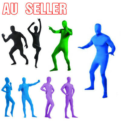 Full Body Men Women Girl Spandex Party Costume Suit Invisible Morph suit