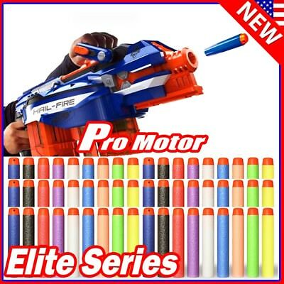 Lot Refill Soft Bullet Darts Nerf N-strike Elite Series Blasters Toy Gun Color P