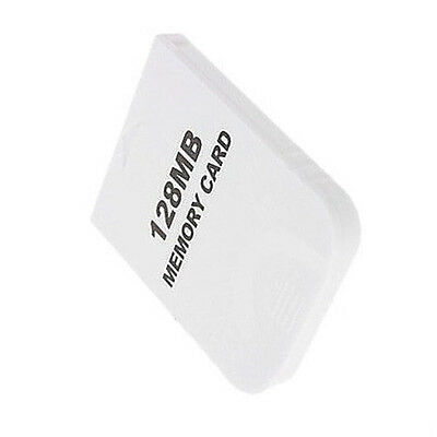 White 128MB Memory Card for Nintendo Wii Gamecube GC Game SZHKDT