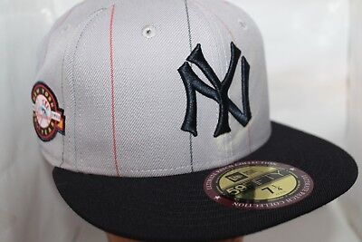 check out d9556 0a81e New York Yankees New Era MLB Ultimate Patch Collection Anniversary 59fifty, Hat
