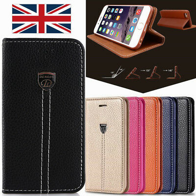 Luxury Ultra Slim Shockproof Flip Wallet Case Cover for Apple iPhone 5 6s 6  Plus 1758268e924cc