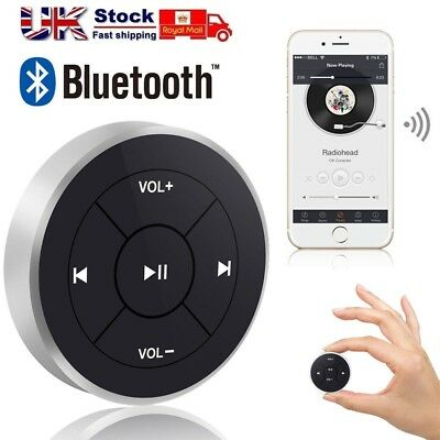 Car Bluetooth Media Button Steering Wheel Remote Controller For iOS Android
