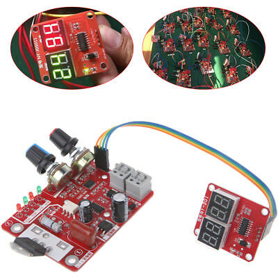 Welder Spot Time Control Board 40A Board Current Controller with Digital Display