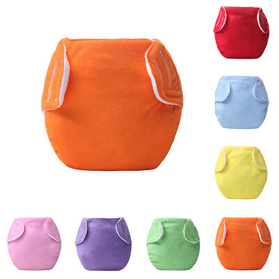 Reusable Newborn Baby Thin Nappy Cloth Diaper Washable Adjustable Leakage-proof
