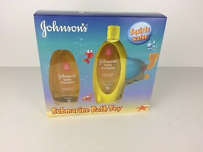 Johnsons Baby Submarine Baby Toy Set Brand New Sealed Christmas Gift