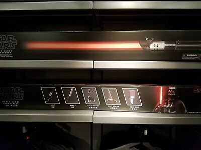 New Disney Parks Exclusive Star Wars Darth Vader Lightsaber Detachable Blade