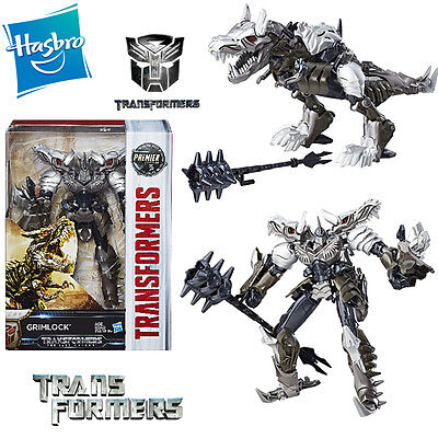 Transformers 5 The Last Knight Grimlock Dinobot Action Figures Premier Edition