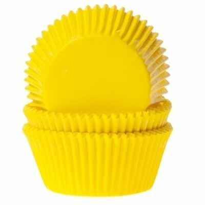 50 Pirottini Giallo Pirottino per Cupcake Muffin House of Marie Cupcakes