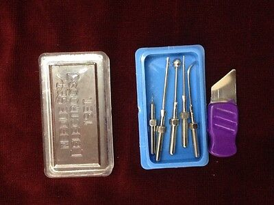 5 Electrodes Electrolysis Needle for surgical skin cautery 4mm diameter