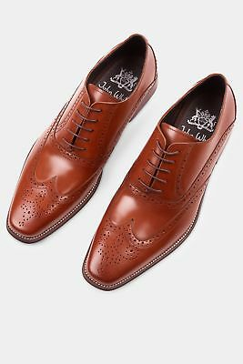 4b7a9bcdf11 PREMIUM OXFORD BROGUES in Tan by John White Shoes - £140.00 ...