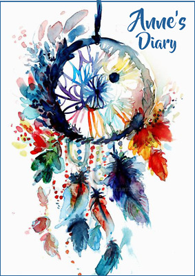 2018-2019 diary personalised with your name dreamcatcher A5