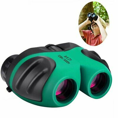Compact Mini Rubber Children Binoculars For Kids 8X 21 Bird Watching Carry Bag