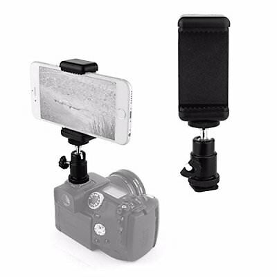Hot Shoe Mount Adapter Kit- Attach Your Phone Flash Mount DSLR Camera