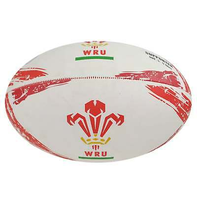 Gilbert Wales WRU Supporter Rugby Ball 2017 - Red and White